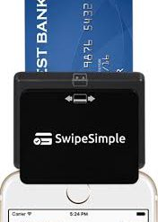 SwipeSimple Mobile Device for Smartphones or Tablets